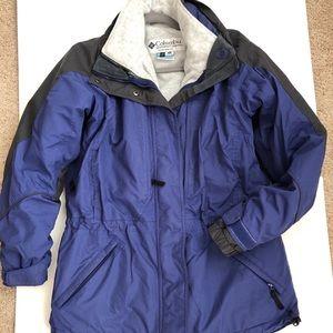 Columbia Core 3 in 1 coat size M Blue